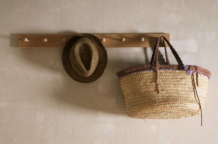 DeVol's handmade Peg Rail is available in three lengths, starting at £60 ($81.20) for 23.6 inches.