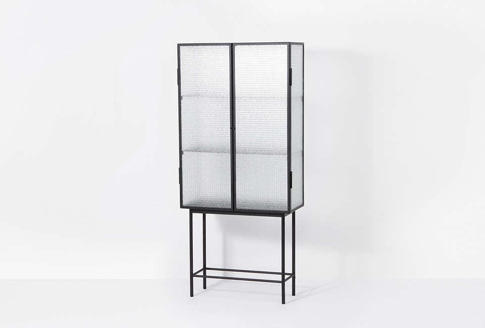 glass cabinet furniture living room ferm living haze vitrine cabinet 10 easy pieces glass and steel display cabinets remodelista