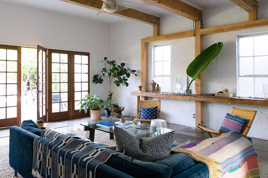 A Budget Renovation for a Stylish LA Guest House (Available