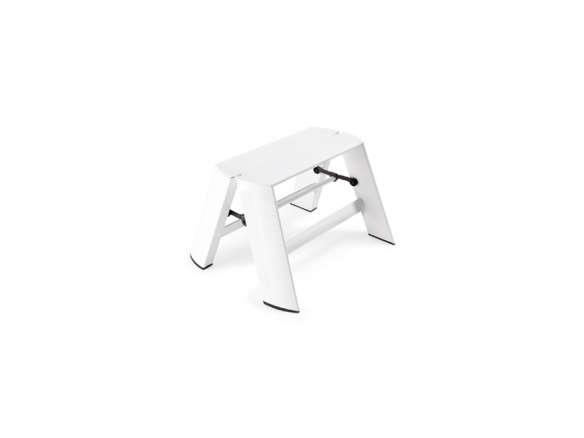 Sensational Hasegawa Lucano White 1 Step Stool Cjindustries Chair Design For Home Cjindustriesco