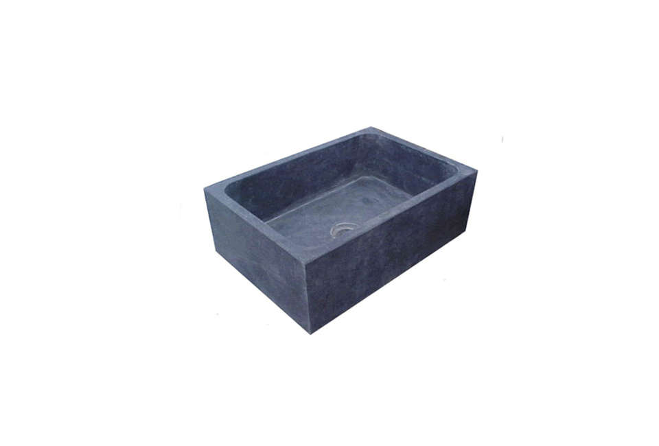Box Matras Baby : Chicago wright solid soapstone sink