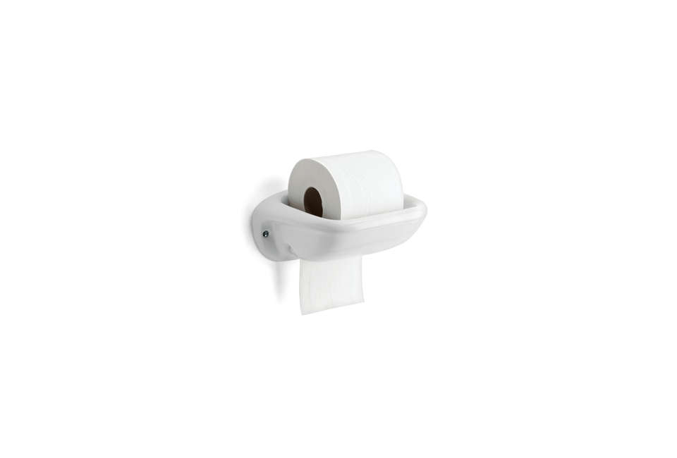 Thomas Hoof Porcelain Toilet Paper Roll Holder