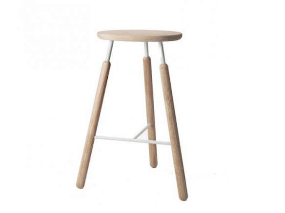 10 Easy Pieces Danish Designed Wood Stools Remodelista