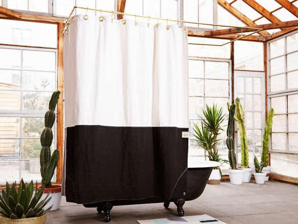 The Orient Night Ride Organic Cotton Canvas Curtain