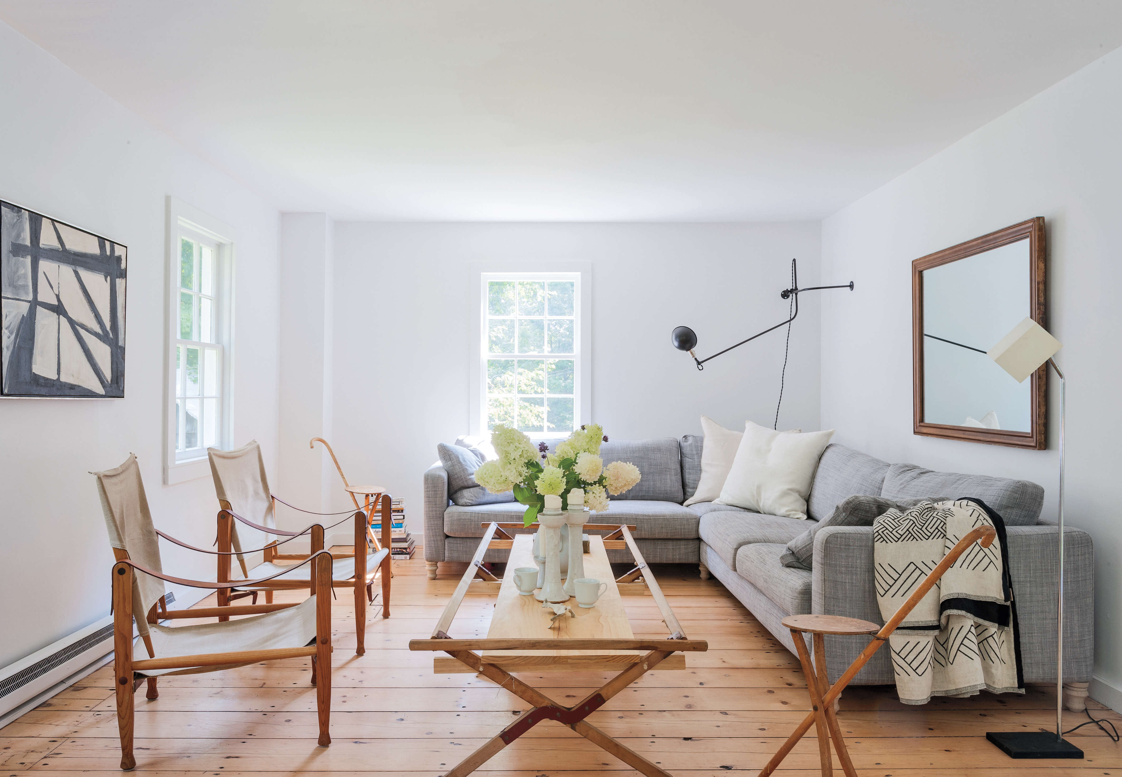Living Room Paint Ideas To Make It Look Bigger expert advice: 11 tips for making a room look bigger - remodelista