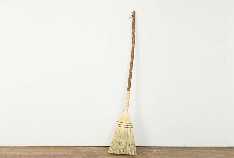 The students at Berea College Crafts in Kentucky are trained in Appalachian arts, including broom-making; the school doesn't charge tuition and is funded by sales of its creations. The Cottage Broomis available from Berea College for$57. (See more of their broom offerings here.)