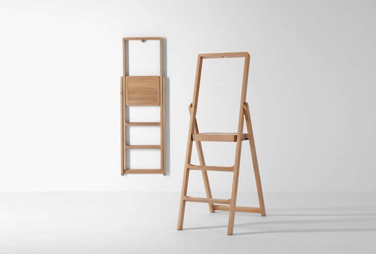 Excellent 10 Easy Pieces Slim Step Ladders For Small Spaces Remodelista Caraccident5 Cool Chair Designs And Ideas Caraccident5Info