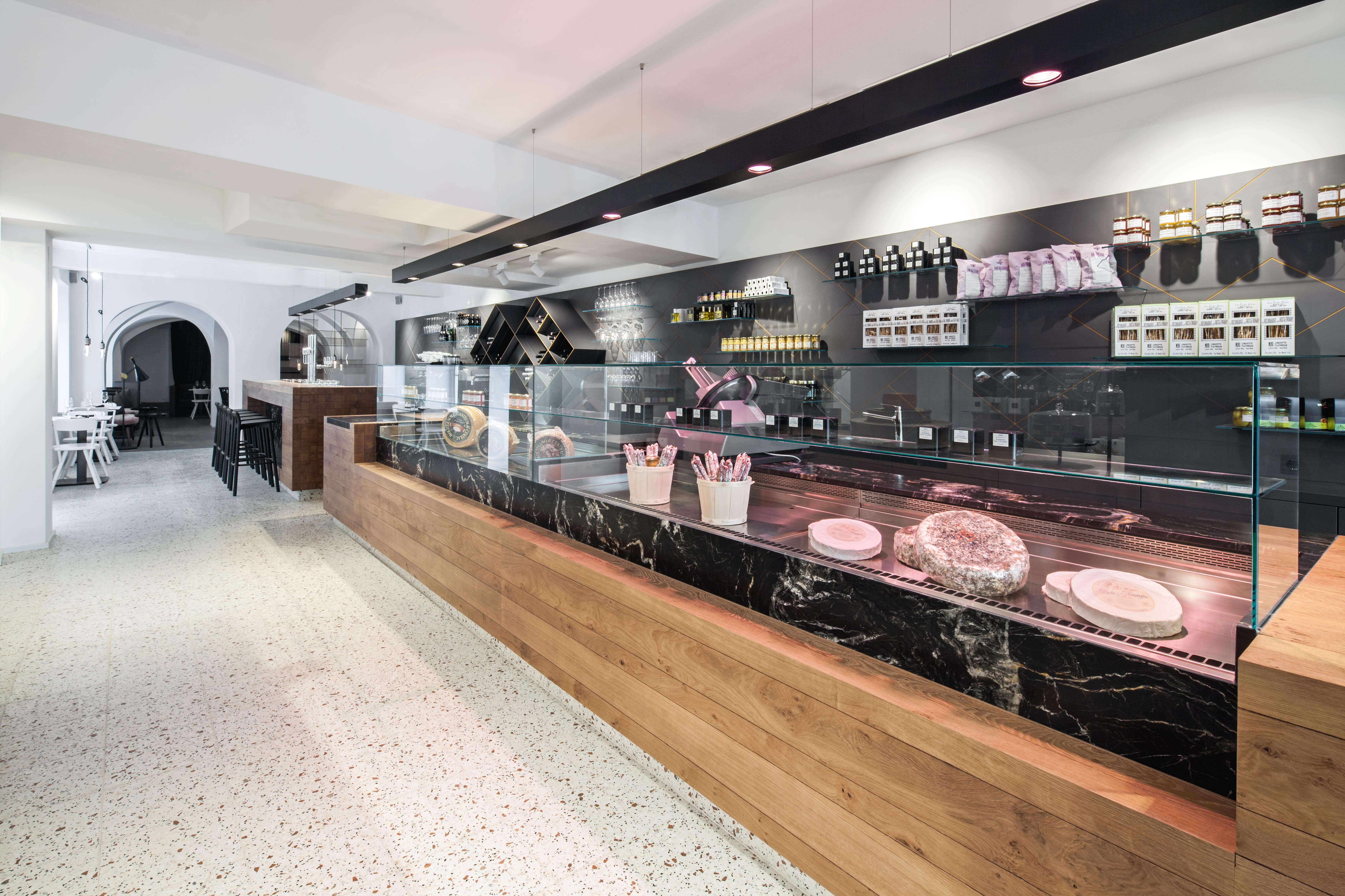 Stunning Lingenhel Shop in Vienna by Destilat Photo by Monica Nguyen Front
