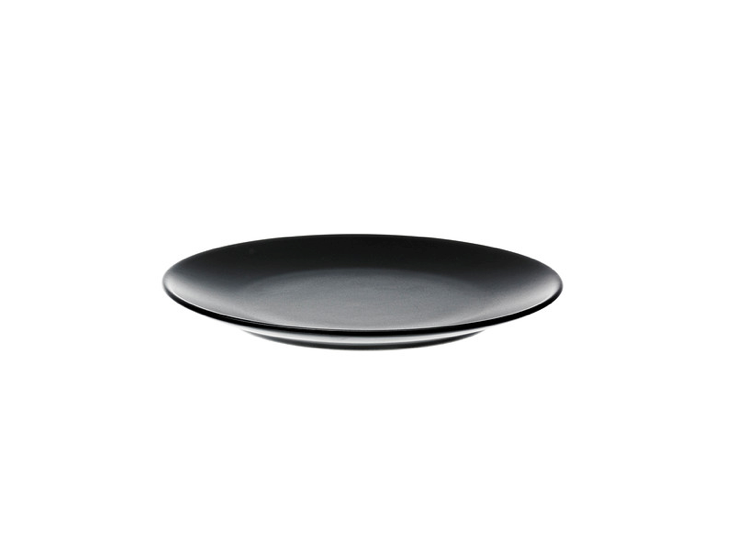 Black Dinera Plate from Ikea