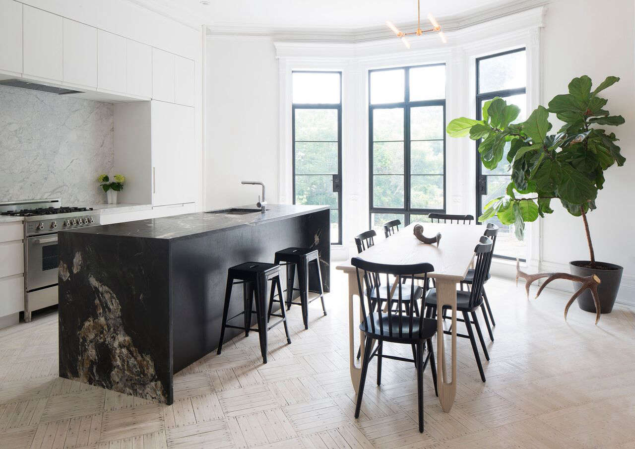 House Call: A Brooklyn Brownstone Goes Gothic - Remodelista