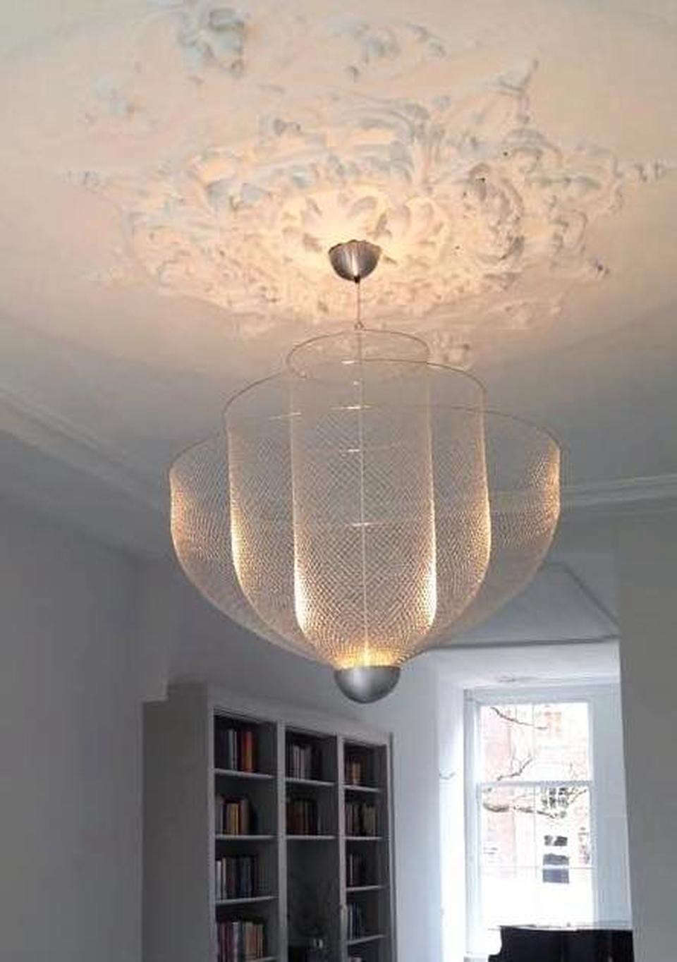 Large Meshmatics Chandelier