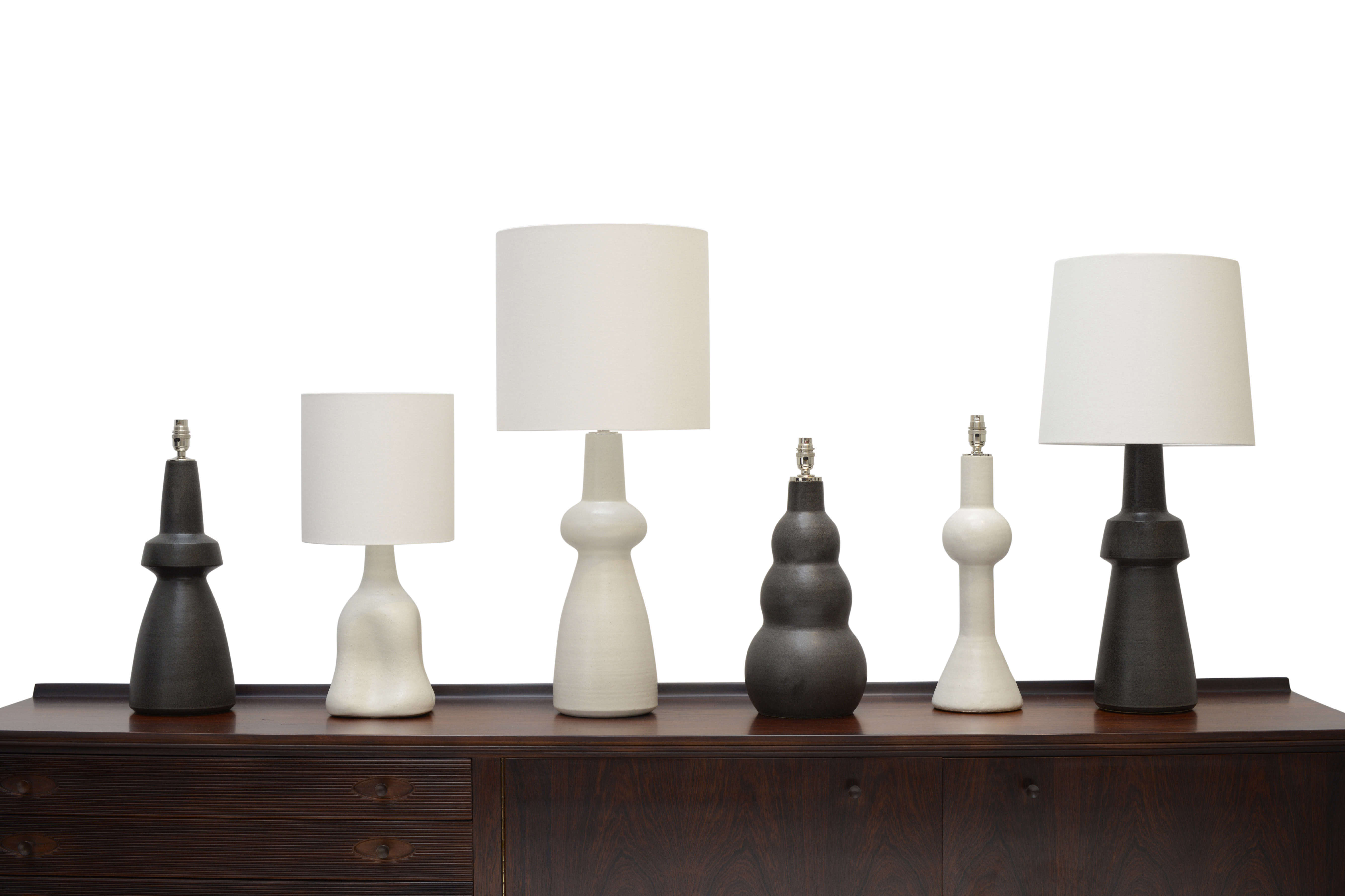 Tall table lamps at home and interior design ideas awesome trend alert the sculptural ceramic table lamp examples geotapseo Gallery