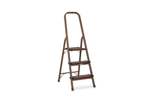 3 Step Wood Amp Aluminum Ladder