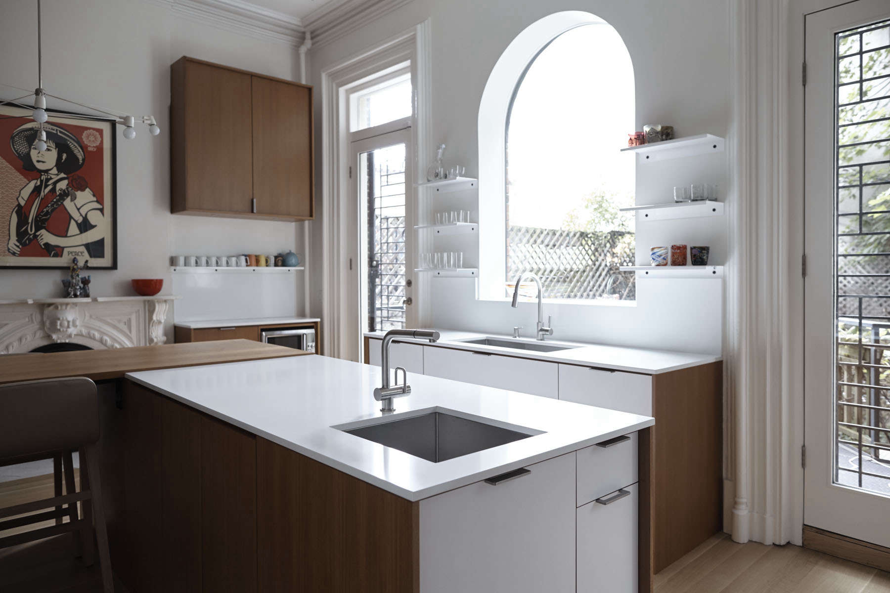 Kitchen of the Week: A Something Old, Something New Kitchen in ...
