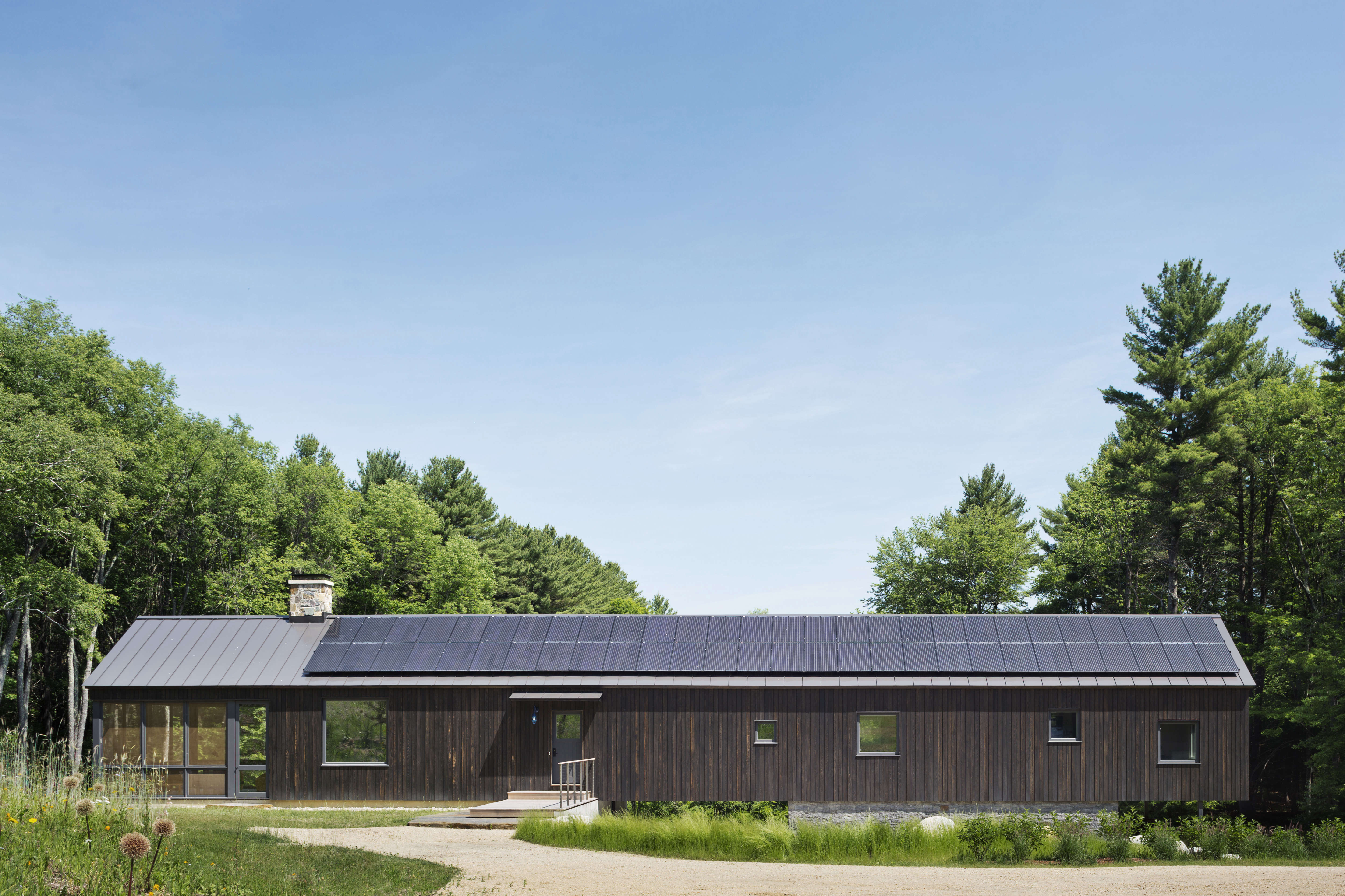 Architect Visit Aging In Place The Berkshires Modern Barn Edition