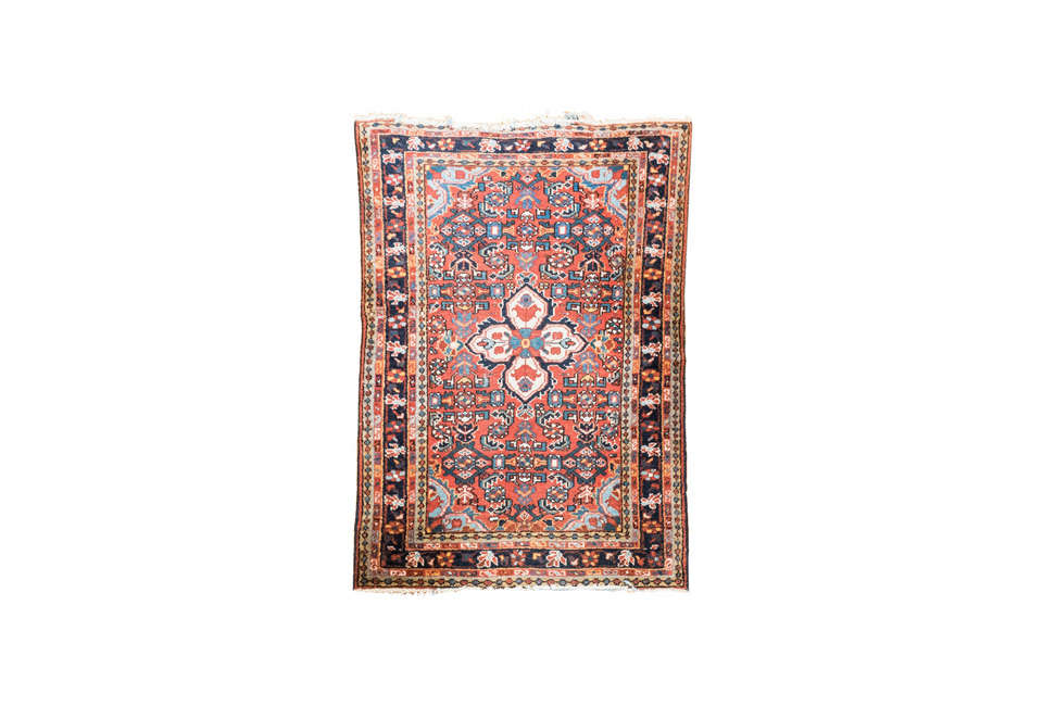 Everything But The House Handwoven Wool Heriz Area Rug