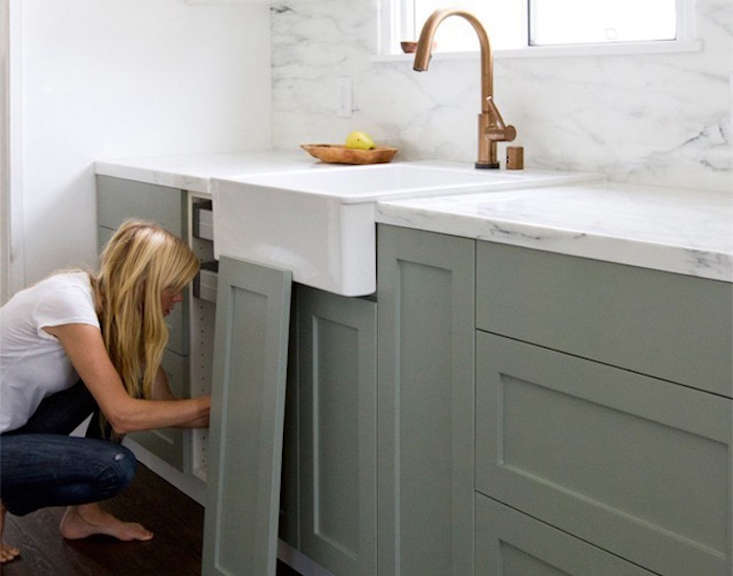 LA-based company SemiHandmade designs a range of door fronts (shown here in Sarah & Ikea Kitchen Upgrade: 9 Custom Cabinet Companies for the Ultimate ...