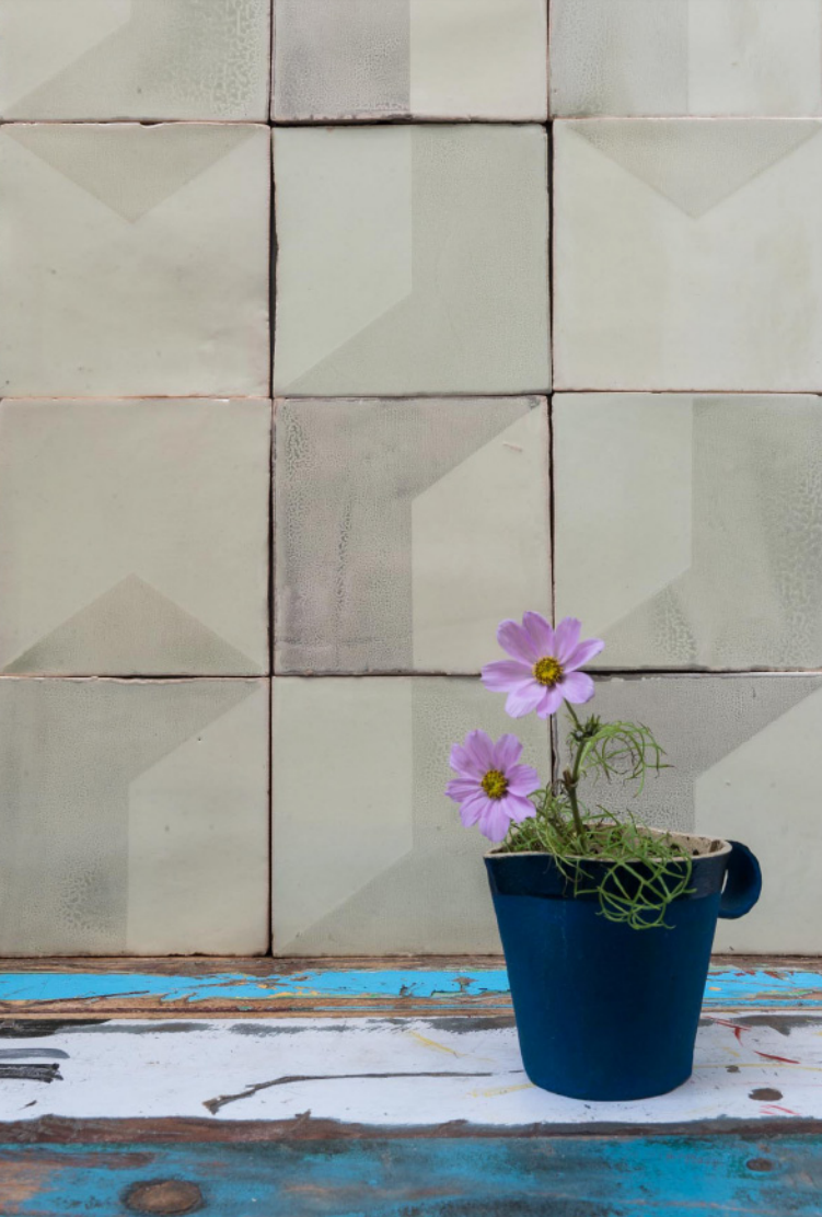 Subtle Imperfections: Screen-Printed Ceramic Tiles from a Small ...