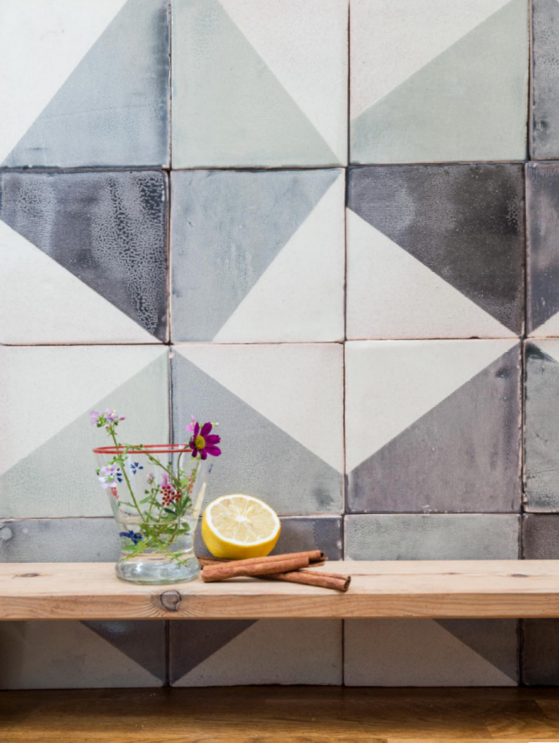 Small ceramic tiles