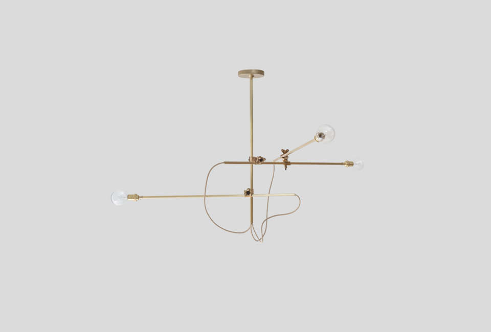 Workstead Brass Chandelier