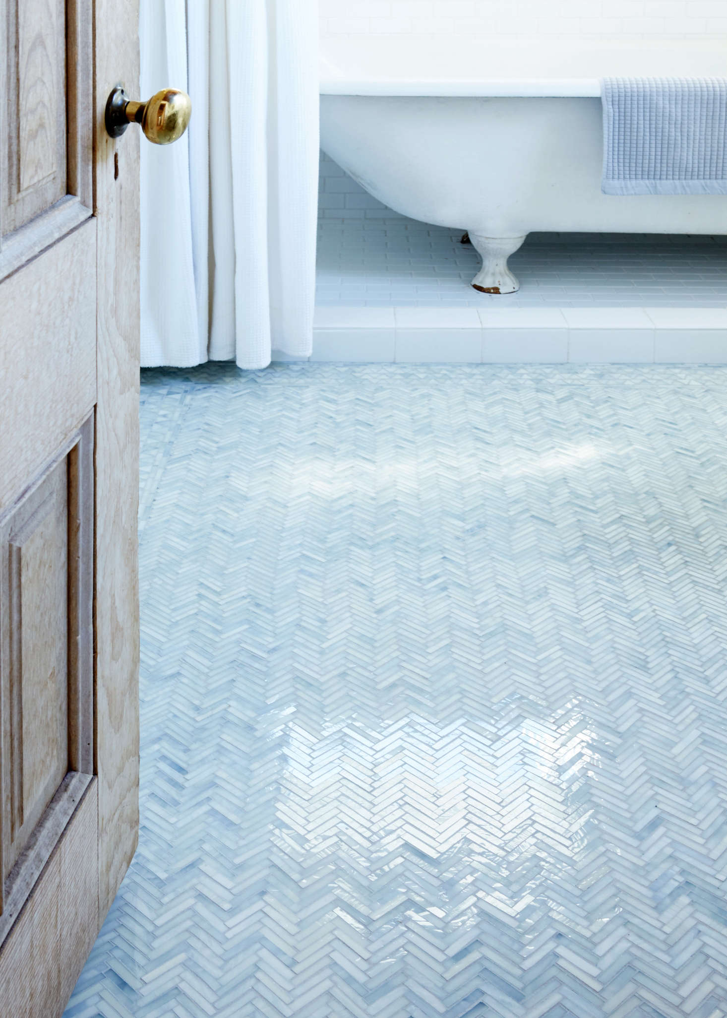 Photographer Aya Brackett Had A Gl Tile Floor Installed In Her Oakland California