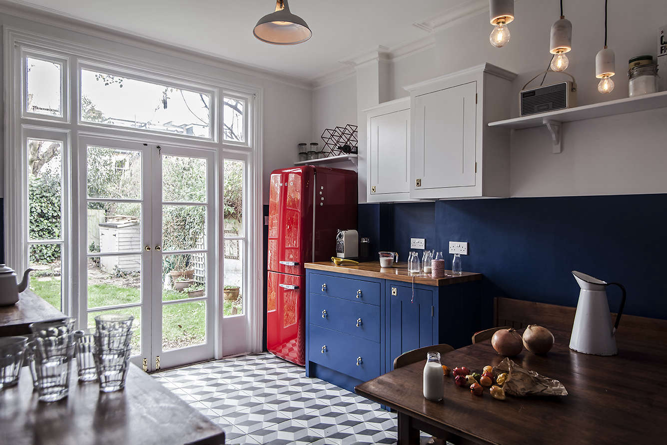 Steal This Look: A Cost-Conscious Retro Kitchen in London - Remodelista