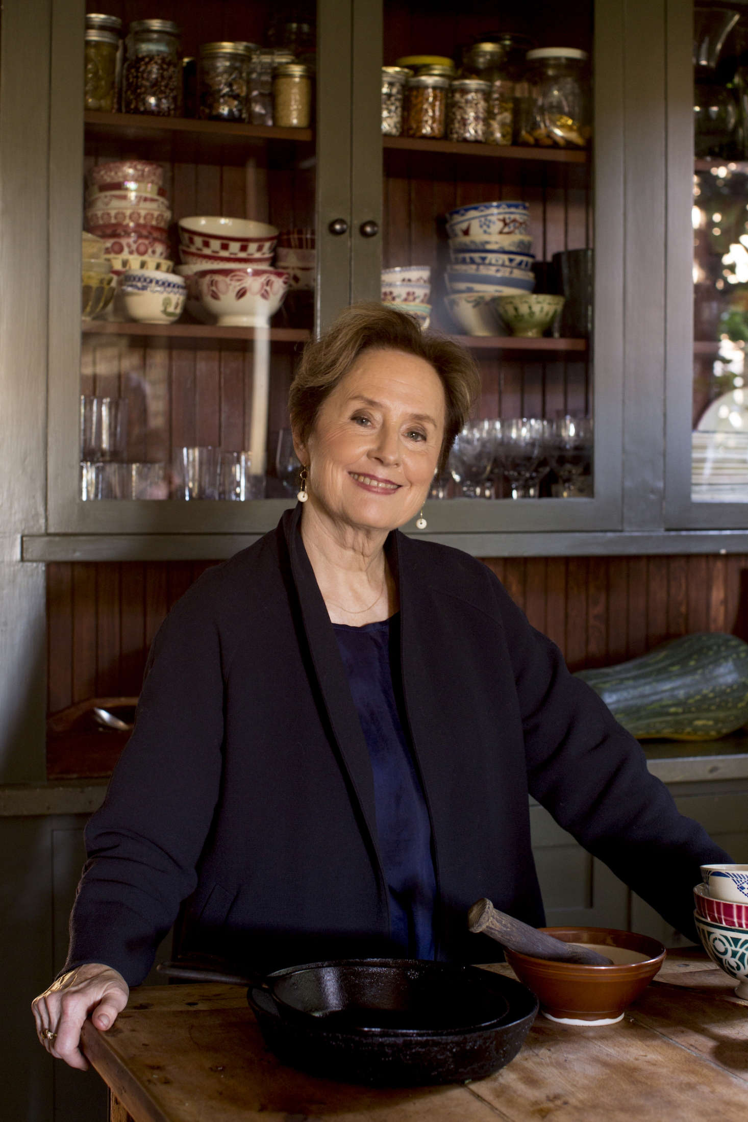 Alice Waters In Berkeley Craftsman Kitchen Permanent Collection