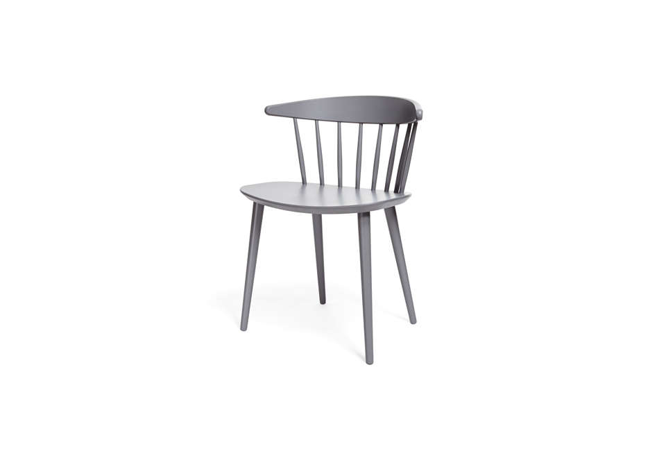 Gray Lacquered Modern Dining Chair At ABC Carpet Home