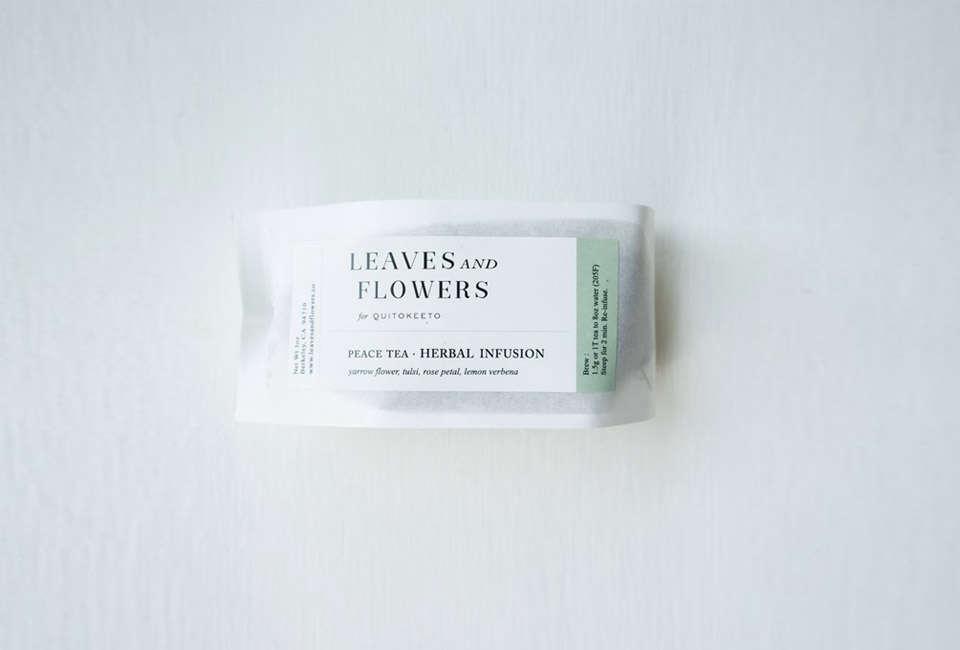 Leaves Flowers Peace Tea Refills