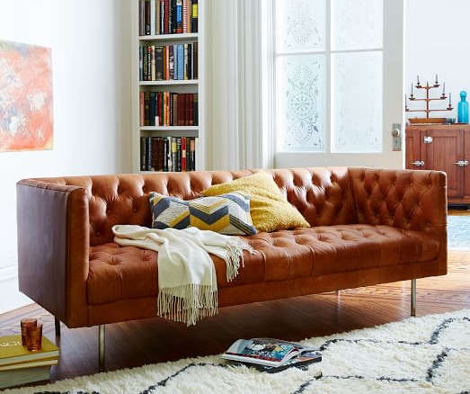 modern chesterfield leather sofa. Interior Design Ideas. Home Design Ideas