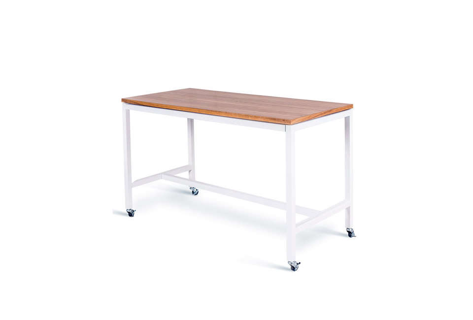 The Modern Tall Bar Kitchen Dining Table On Wheels Is 979 About 1 280