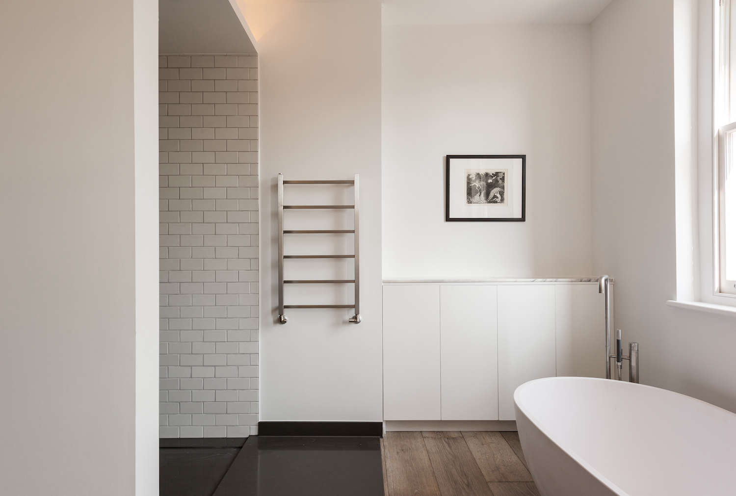 White Bathroom Heater remodeling 101: towel warmers - remodelista