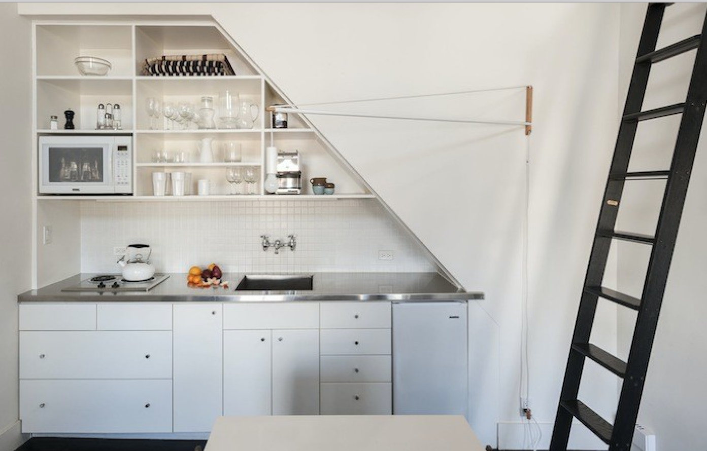 Merveilleux Compact Kitchen Stainless Countertop Matthew Williams Remodelista