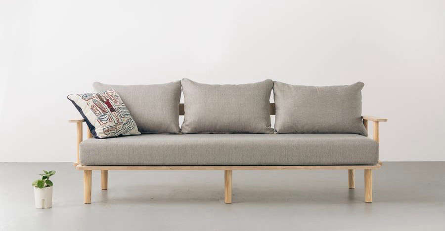 The Flatpack Sofa From Greycor A That Embles Without Tools And Can Be Disembled