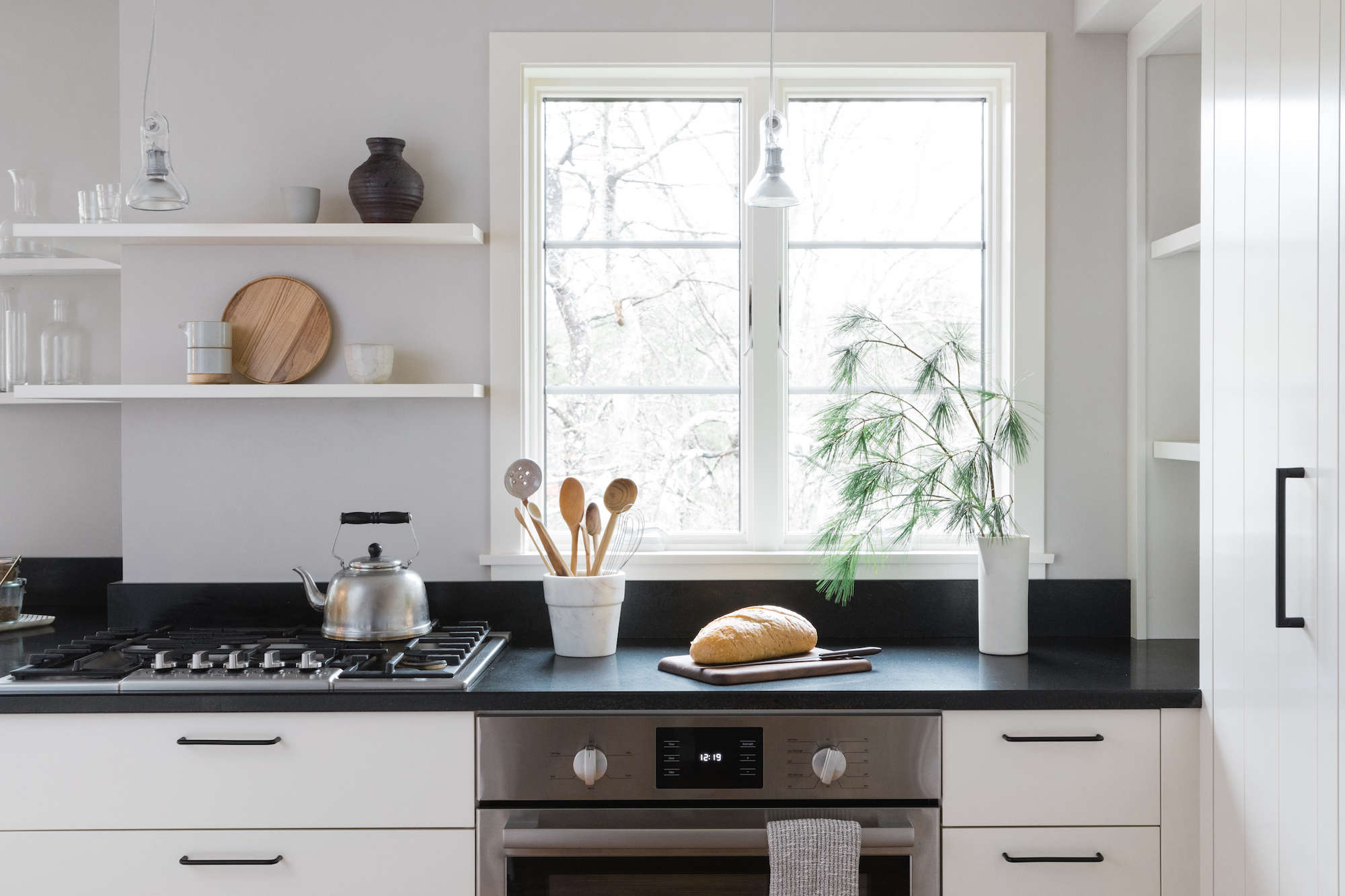 A Japanese-Inflected Kitchen with Bosch Home Appliances - Remodelista