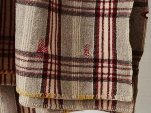 Vintage Darned Blanket No B03
