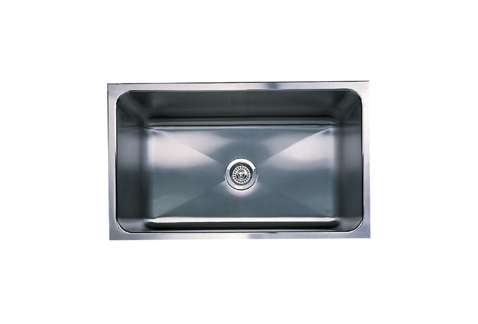 Cool Blanco Magnum Undermount Single Bowl Kitchen Sink