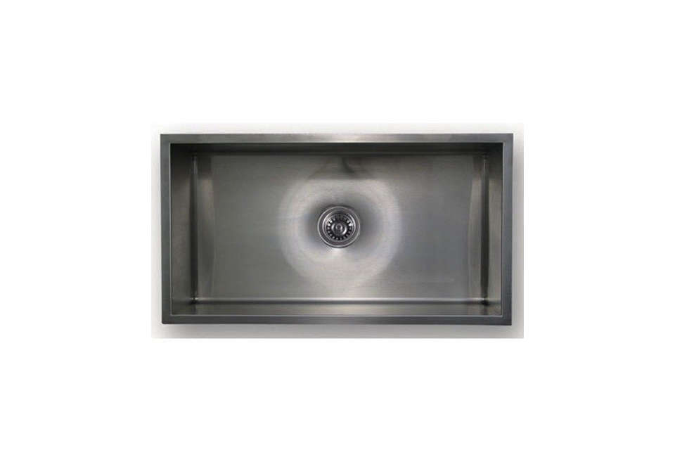 Chefhaus Brushed Stainless Steel Gauge Undermount Sink