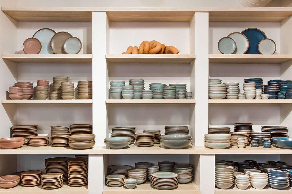 East Fork Pottery on Shelves