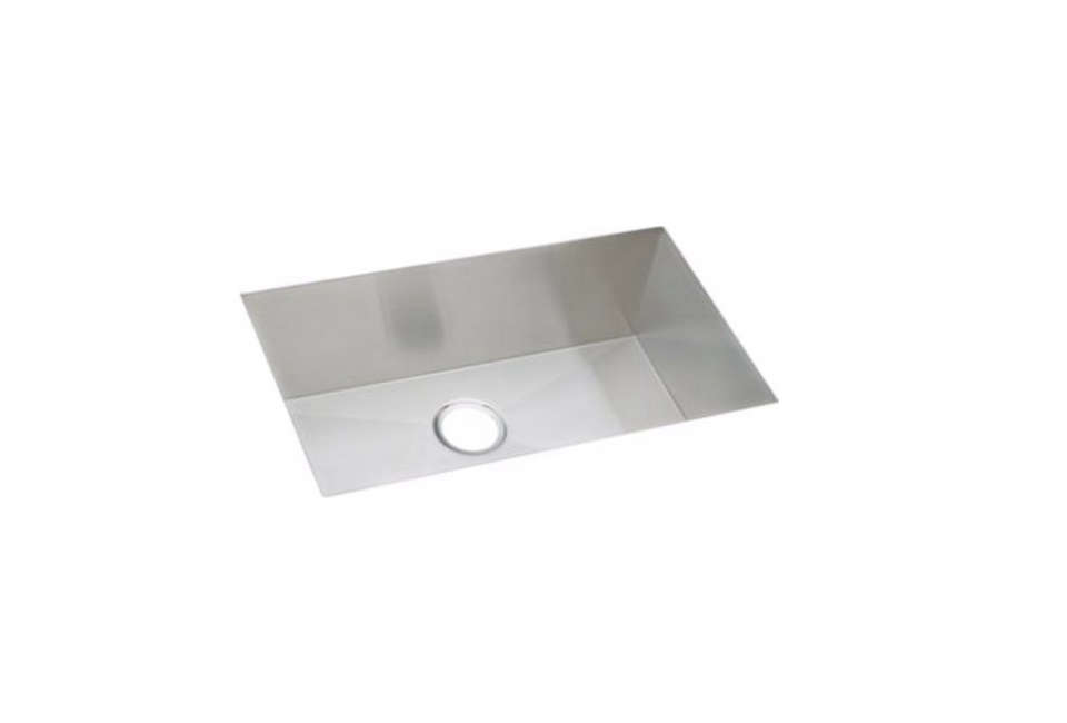 Best Elkay Avado Stainless Steel Single Bowl Undermount Sink Kit