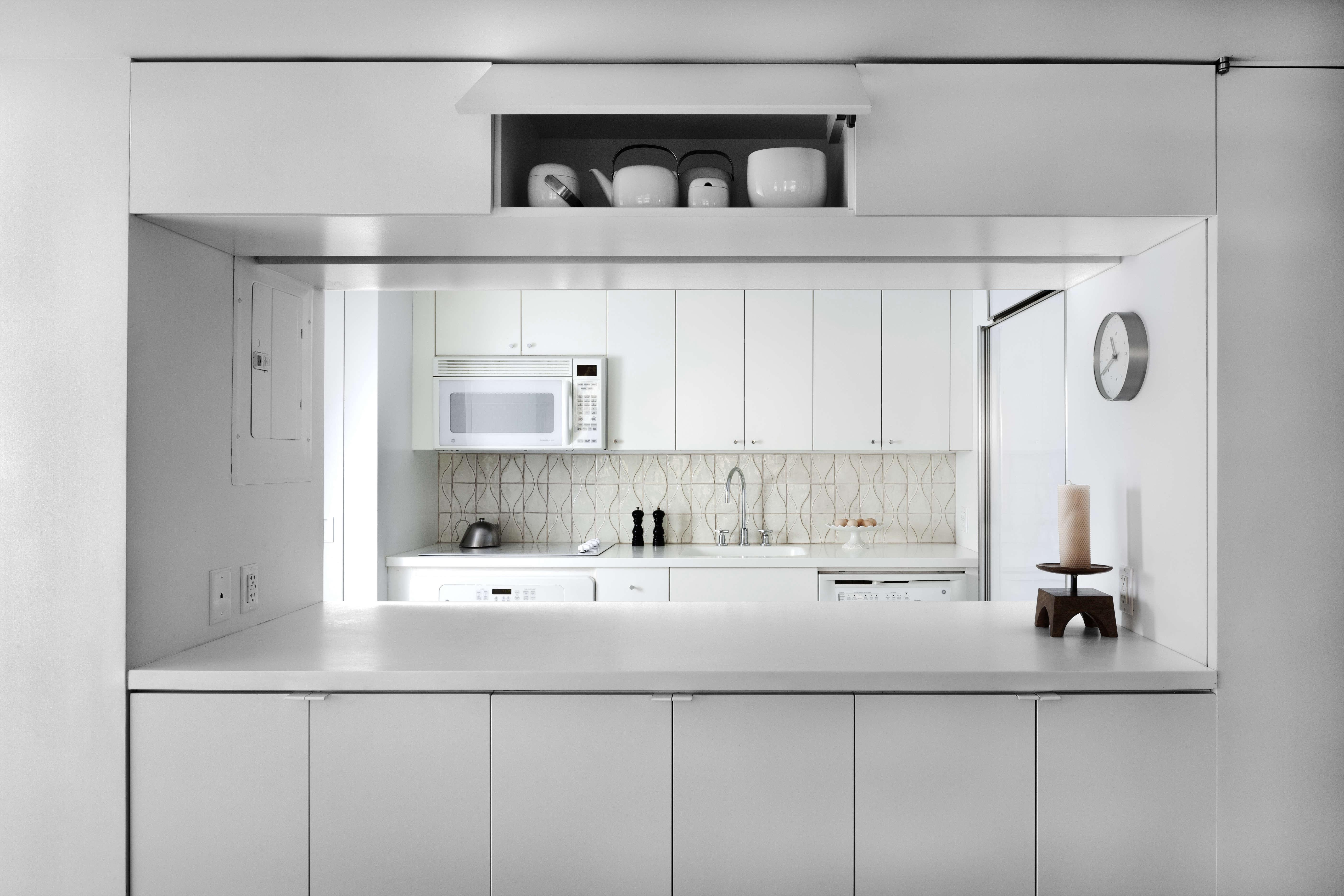 Jennifer Hanlin Cobble Hill Apartment Kitchen, Photo By Bruce Buck