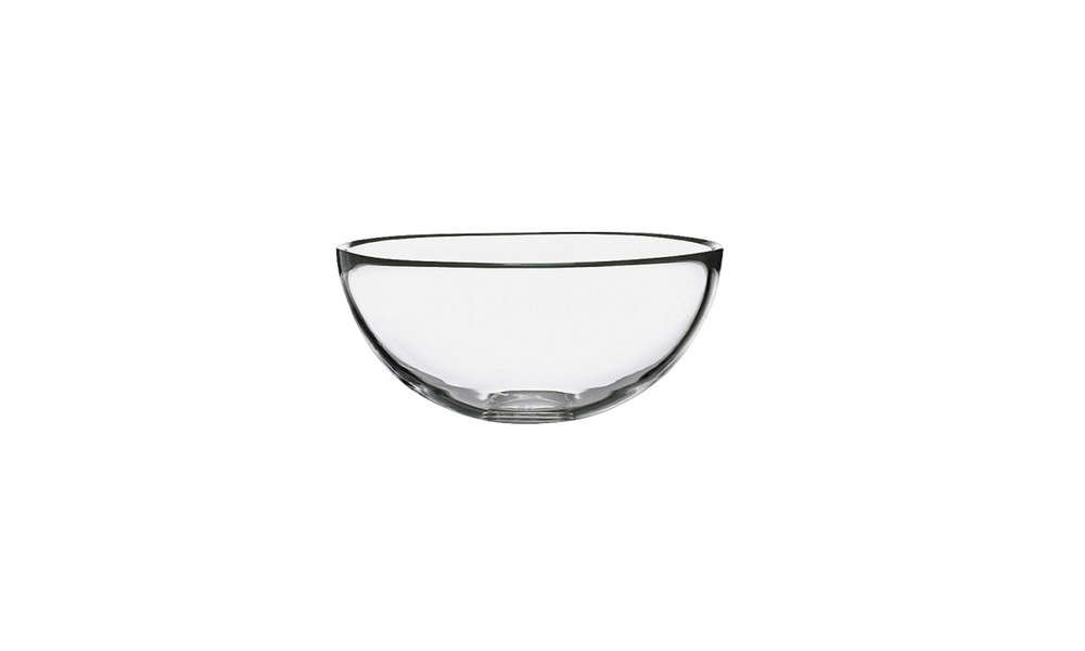 """Ikea might not come to mind when you think """"wedding gift,"""" but we on the Remodelista team use many of their wares again and again in our own homes (just see The Ikea Essentials: Editors' 10 Favorite Kitchen Tools), and a wedding gift from Ikea is sure to get lots of practical wear. This Blanda Glass Serving Bowl(only $4.99) remind us of Margot's workhorse glass nesting bowls that she got on her wedding day and still uses."""