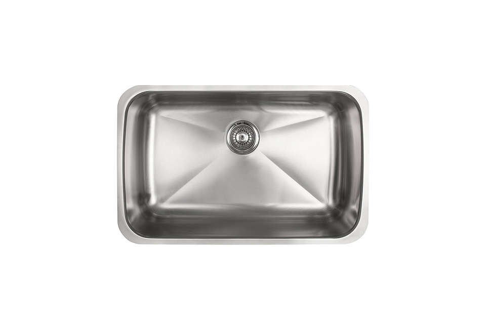 Unique Kindred Sinks Single Bowl Stainless Steel Undermount Sink