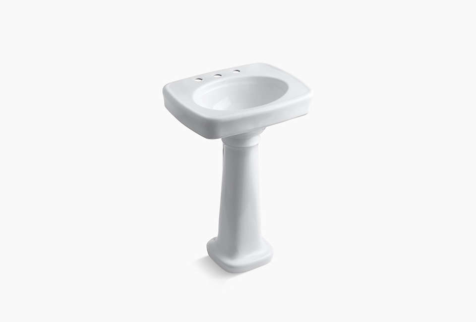 Kohler Bancroft Pedestal Bathroom Sink