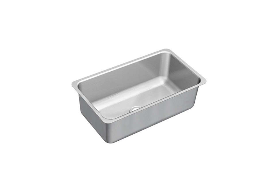 Moen Series Undermount Stainless Steel Single Bowl Kitchen Sink
