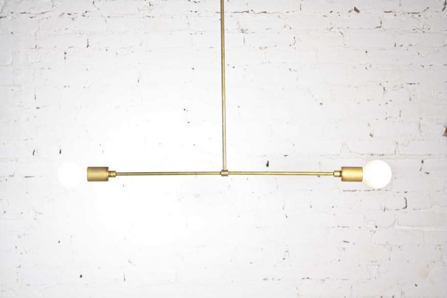 Elegant economy 7 pendant fixtures from indie lighting companies perchoir midcentury modern pendant chandelier aloadofball Gallery