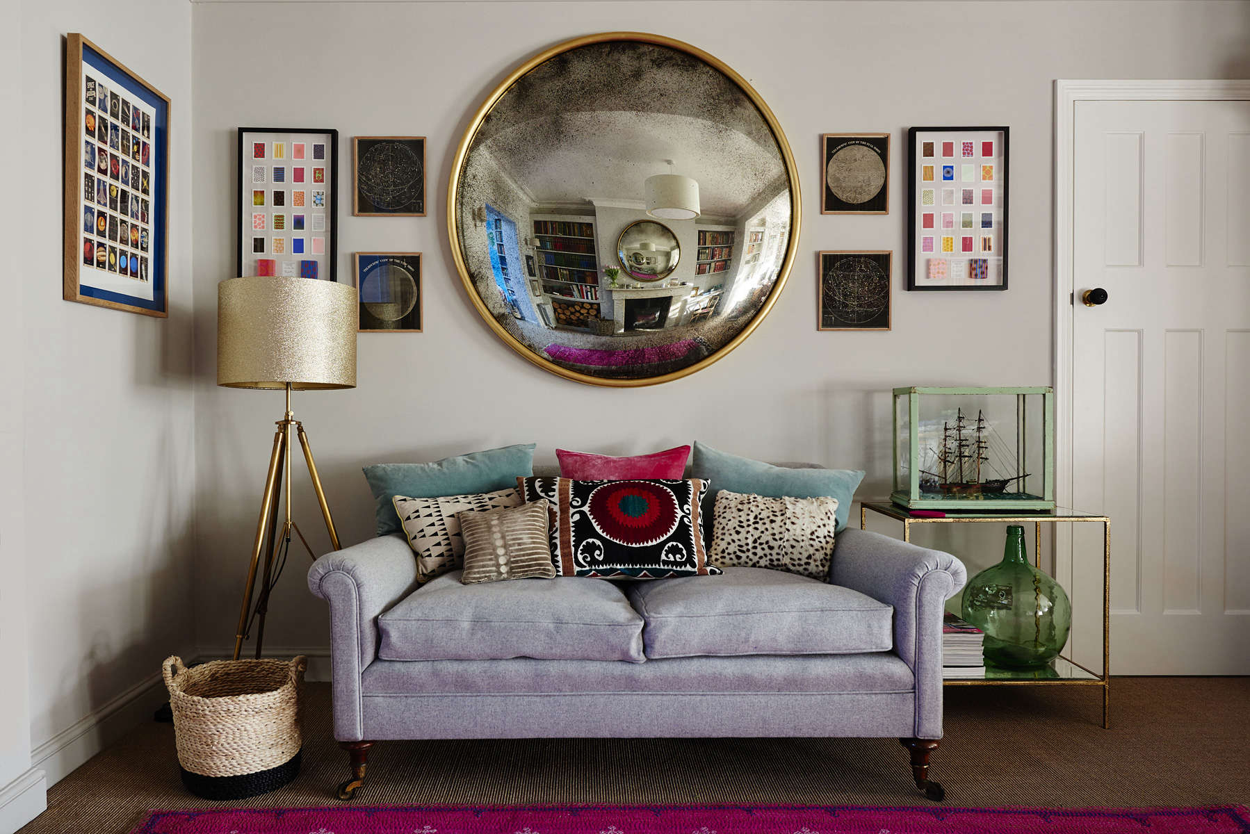 Bespoke Vintage Style Mirrors From A Small London Workshop