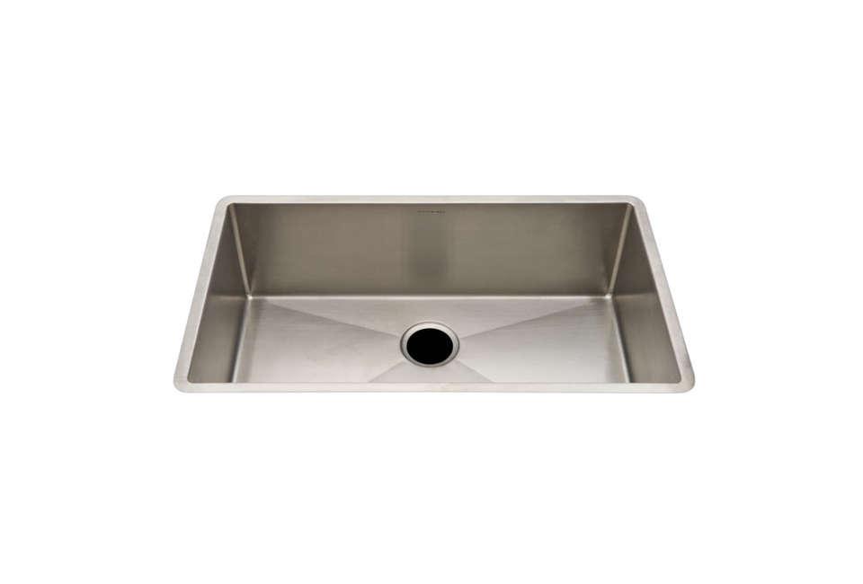waterworks kerr stainless steel sink