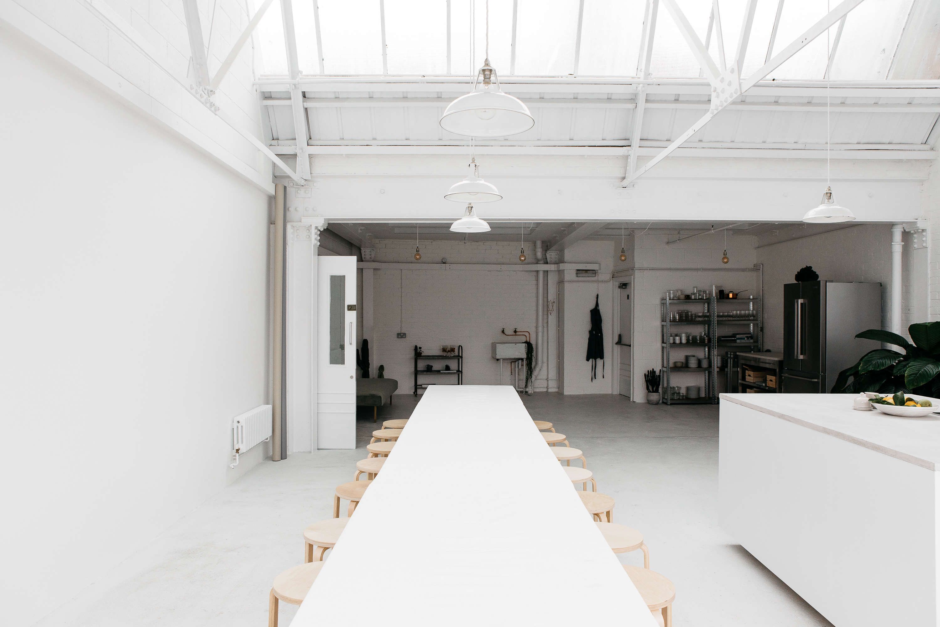 steal this look all white industrial kitchen in london ikea rye london all white kitchen