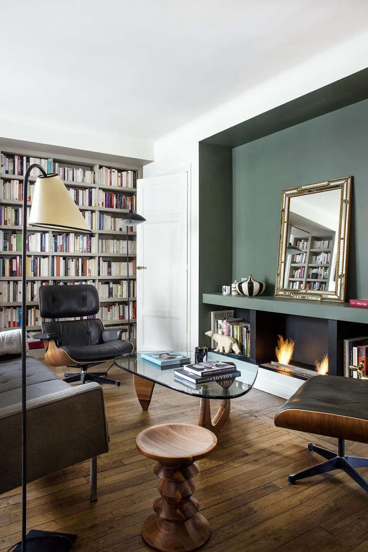 Modern Small Apartment Living Room Paris By Philippe Harden